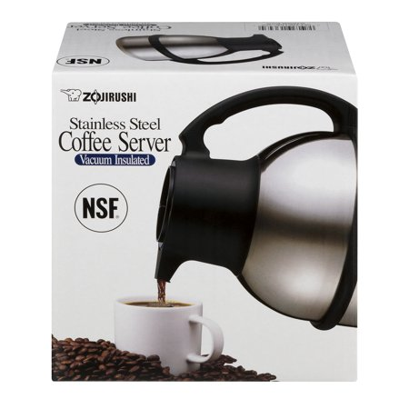 Zojirushi Stainless Coffee Server (Zojirushi Stainless Steel Coffee Server Vacuum Insulated, 1.0)