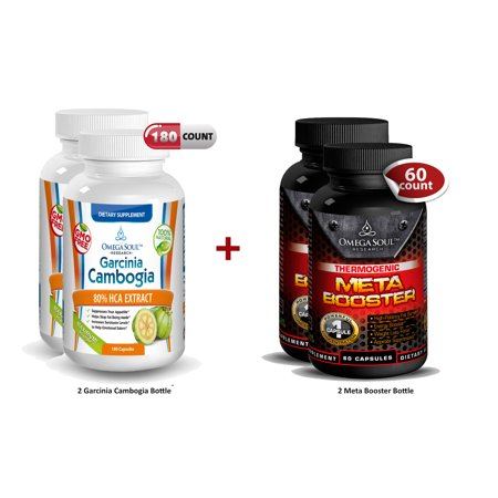 Bundle Pack 2 Bottle Garcinia et 2 de Super Meta Booster