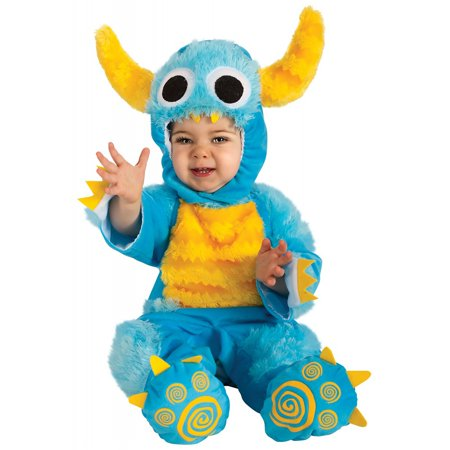 Homemade Monsters Inc Costumes (Mr. Monster Baby Infant Costume - Baby)