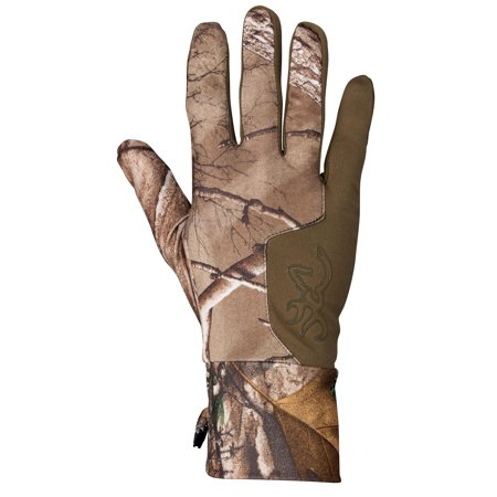 Browning Liner - Browning Hell's Canyon Riser Liner Glove Realtree Xtra, Large