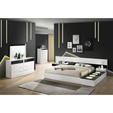 Best Master Furniture Bahamas 6 Pcs King Bedroom Set