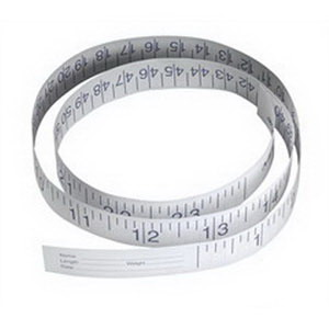 "Disposable Paper Tape Measure 72"" Part No. NON171333 Qty 1"
