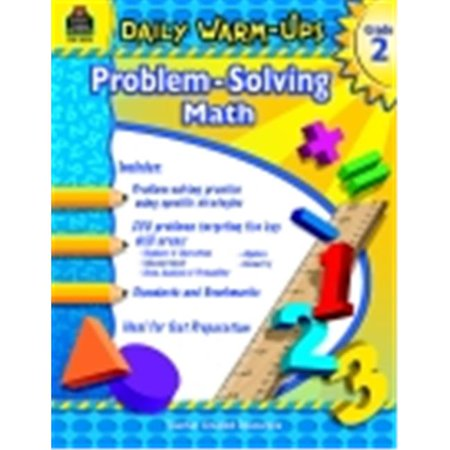 Teacher Created Resources Daily Warm Ups Word Problems Book, Grade 2 (Daily Warm Ups)