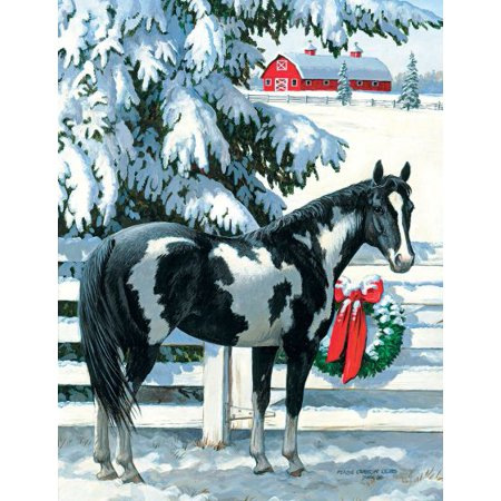 LANG HOLIDAY STABLES BOXED CHRISTMAS CARDS