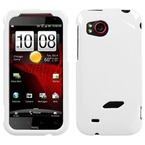 Insten Natural Ivory White Phone Case for HTC: ADR6425 (Rezound)