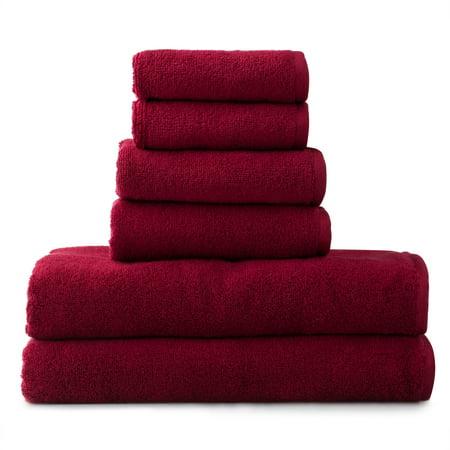 Amaze 6 Piece Towel Set