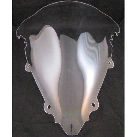 Kage Acrylic Clear Windscreen Windshield for 2003-2005 Yamaha R6 and 2006-2008 Yamaha R6S (R6 Windscreen Clear)