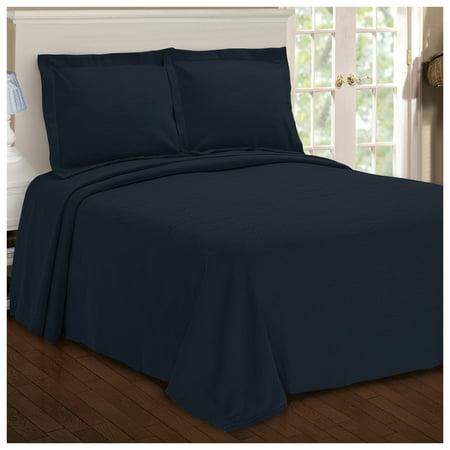 Premium Cotton Paisley Jacquard Matelassé Sage Bedspread & Pillow Shams Set