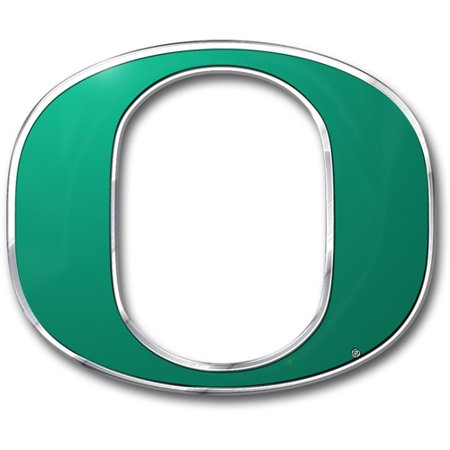 Oregon Ducks Color Auto Emblem - Die Cut - Oregon Ducks Stickers