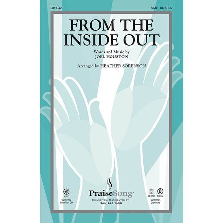 PraiseSong From the Inside Out CHOIRTRAX CD by Hillsong Arranged by Heather  Sorenson