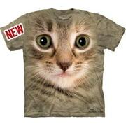 Kitten Face Adult T-Shirt 10-3353