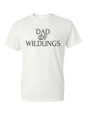 26a9636d3 Product Image Game of Thrones Dad of Wildlings Mens Short Sleeve Shirt.  Custom Apparel R Us