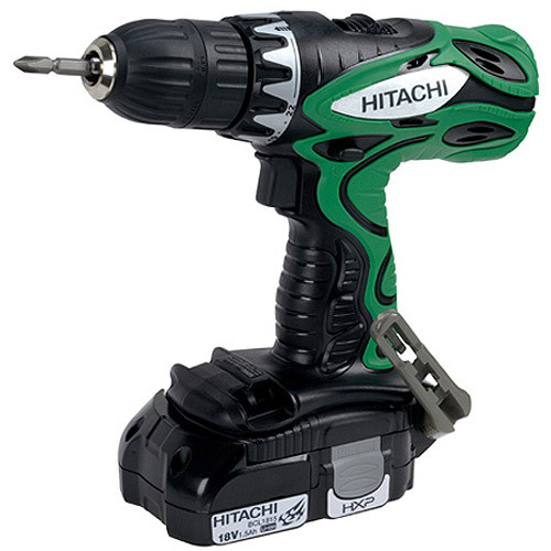 Hitachi 18 V Post Li-Ion Driver Drill, DS18DFLM