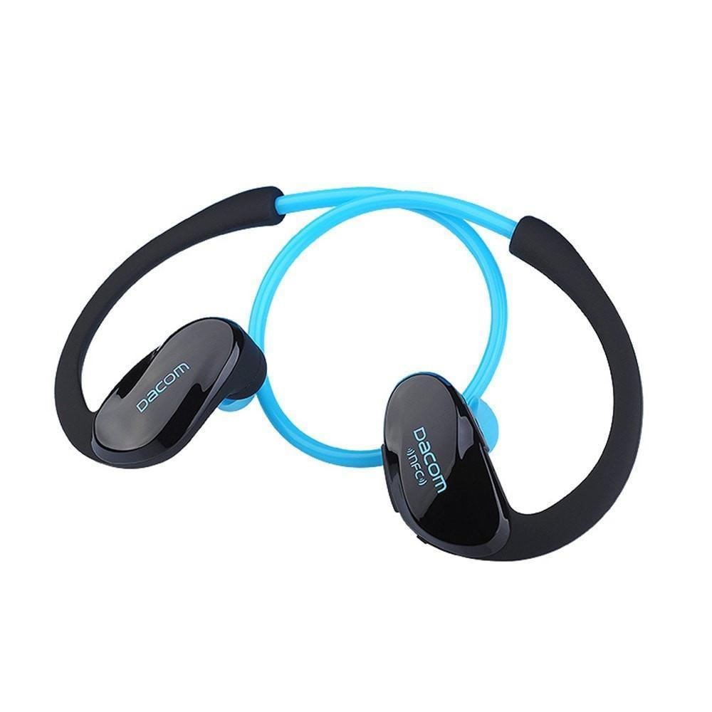 Athletic Sport Running Wireless Bluetooth 4.0 Headphones by Epiktec | Stereo + Microphone + Call Answering| Rechargeable Battery - image 9 of 9