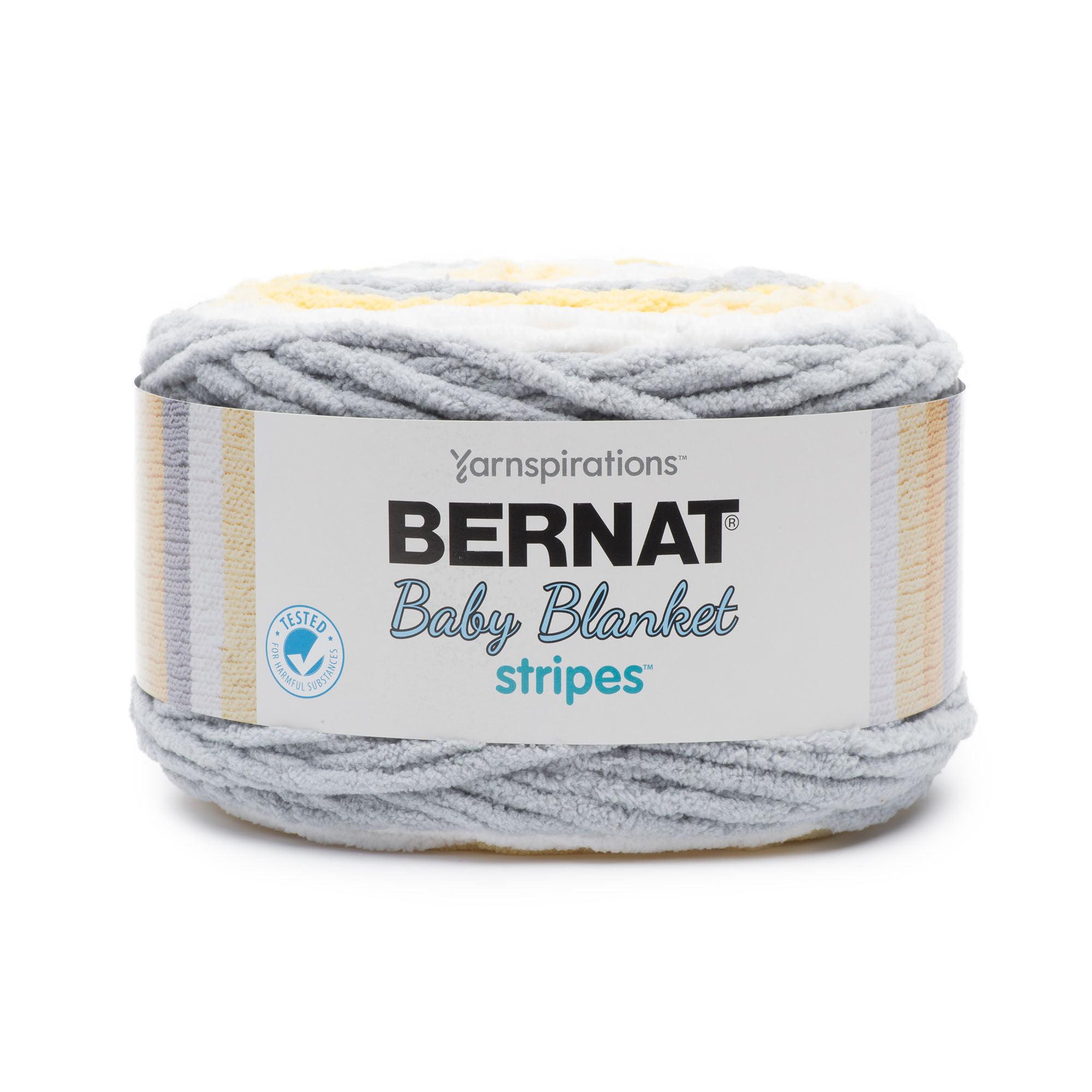 Bernat Bernat Baby Blanket Stripes Fil-Sunshine