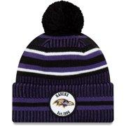 Baltimore Ravens New Era 2019 NFL Sideline Home Official Sport Knit Hat - Purple/Black - OSFA
