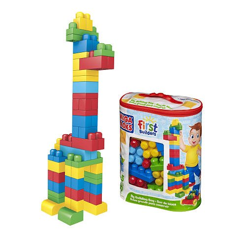 Mega Bloks First Builders Big Building Bag Classic (8327), Great toy For Your Kids By MEGA Brands