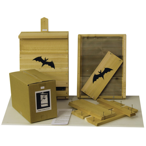 Echo Valley Single Cell Bat Birdhouse Kit
