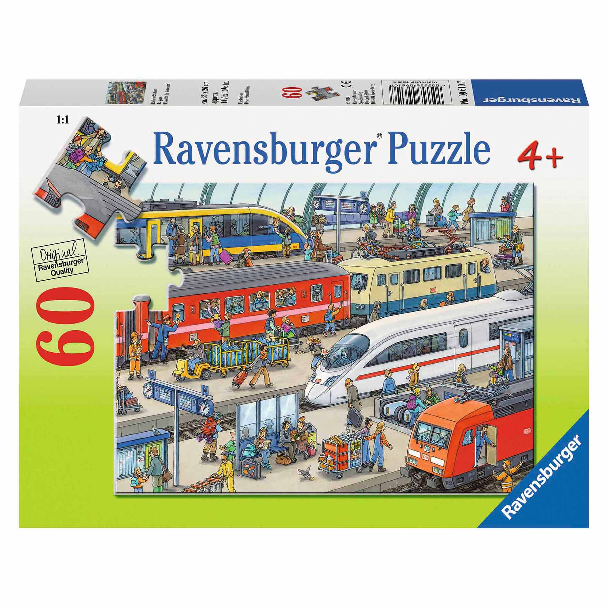Railway Station Puzzle, 60 Pieces