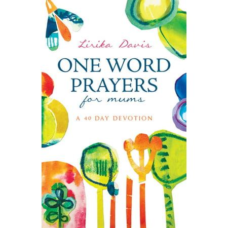 One Word Prayers For Mums - eBook (1 Mum)