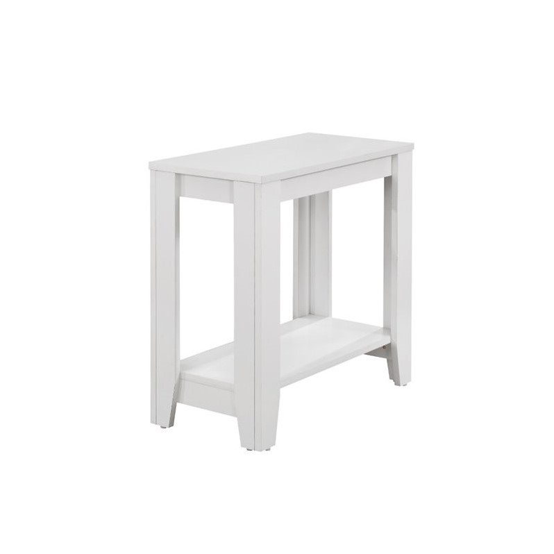 White Accent Table by Monarch Specialties Inc