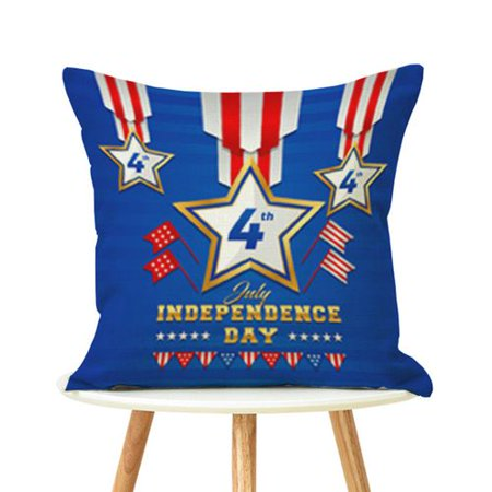 Kaboer 4th Of July Independence Day Patriotic Throw Pillow