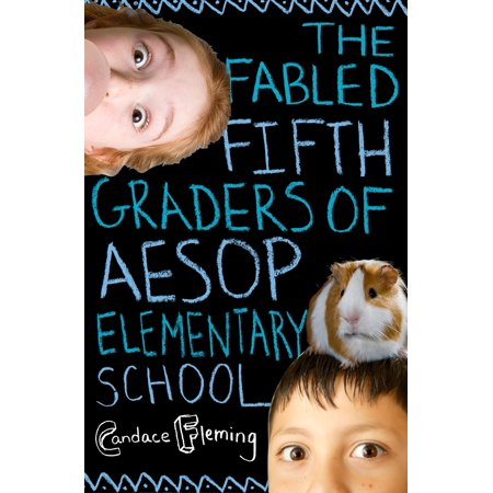 The Fabled Fifth Graders of Aesop Elementary School - eBook - Halloween Activity For 5th Graders