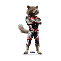 Rocket Raccoon (Avengers Endgame) Cardboard Stand-Up, 4ft x 2ft