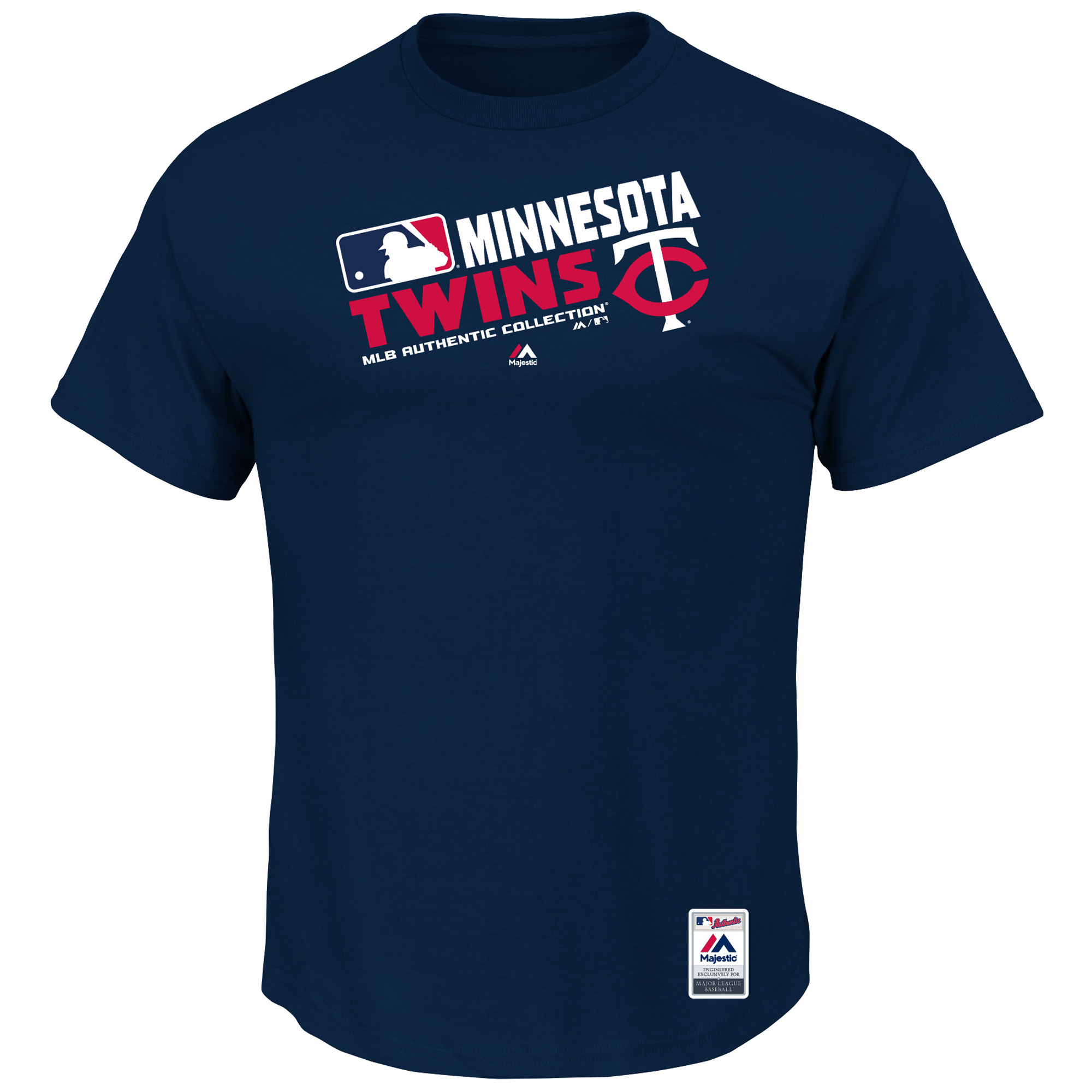 Minnesota Twins Majestic Big & Tall Authentic Collection Official Team Choice T-Shirt - Navy