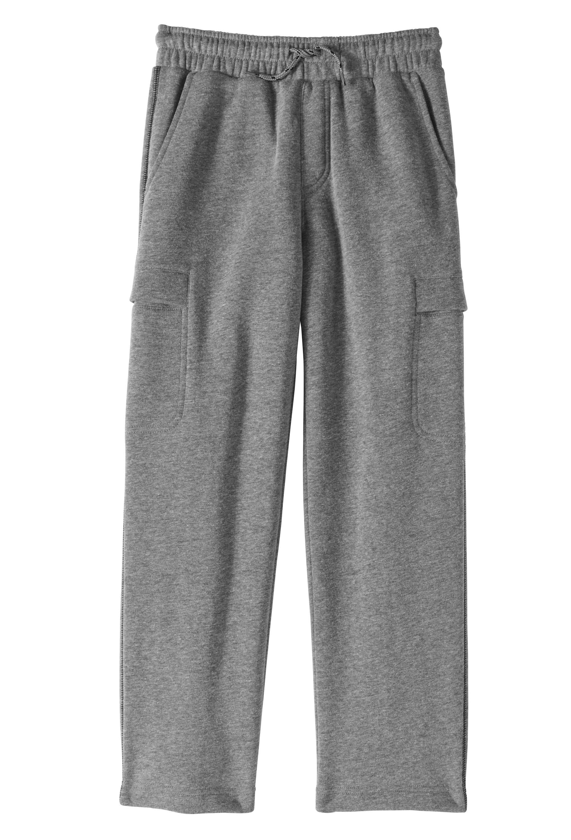 Boys' Fleece Cargo Pants