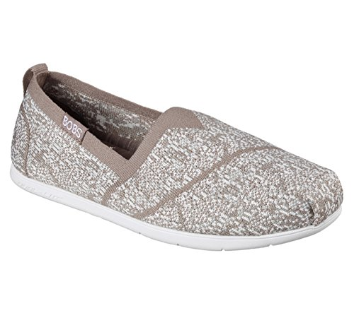 bobs from taupe, skechers women's plush lite-tailor-made flat, taupe, from 8 m us 5bb9ff