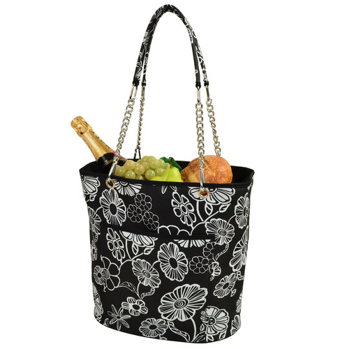 Night Bloom Fashion Cooler Tote insulated
