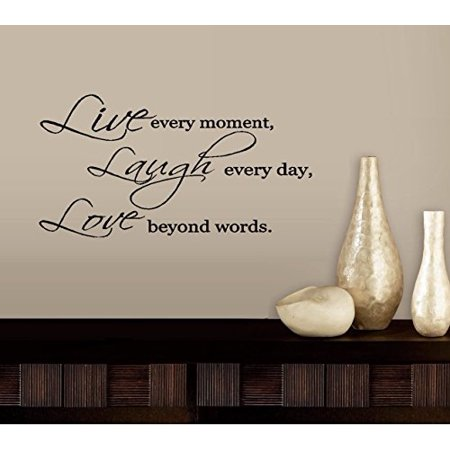 Decal ~ LIVE LAUGH LOVE #3 ~ WALL DECAL, HOME DECOR 13