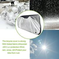 Sunlite Heavy Plastic Bike Cover