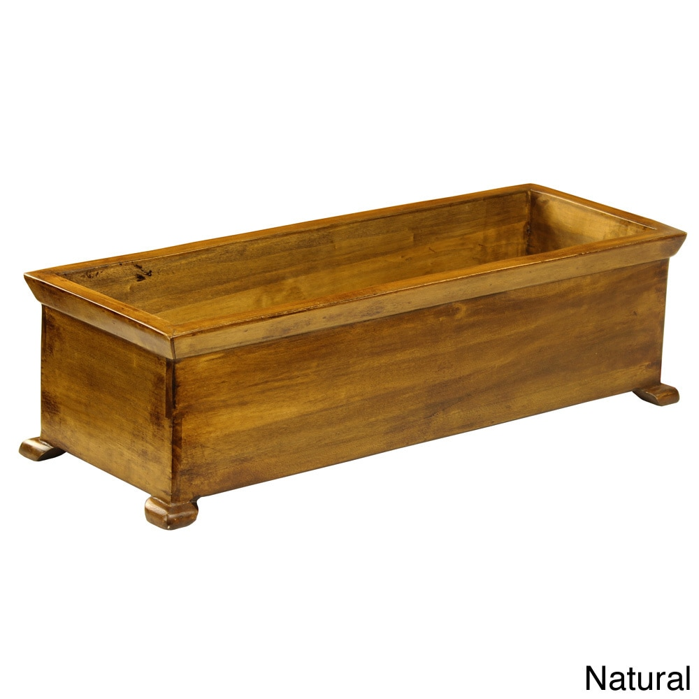 Antique Revival French Planter with arched Legs