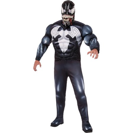 Venom Mens Classic Halloween Costume (Last Minute Mens Halloween Costumes)