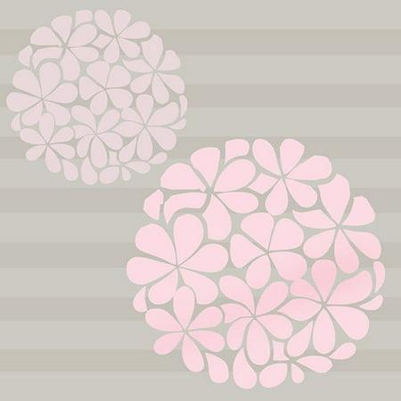 Sweet Potato by Glenna Jean 2 Piece Flower Balls Vinyl Wall Decal