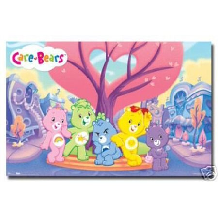 Care Bears Poster Love New 24X36