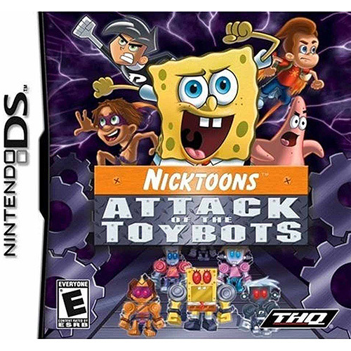 Nick Attack Toybots  (DS) - Pre-Owned