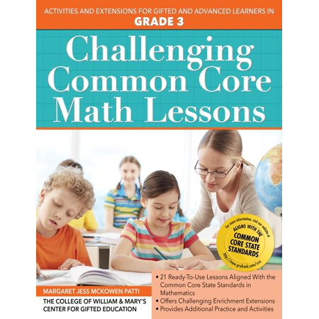 Challenging Common Core Math Lessons (Grade 3)