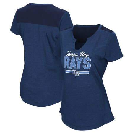 - Women's Majestic Navy Tampa Bay Rays Plus Size Switch Hitter T-Shirt