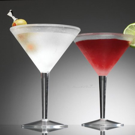 Iced Martini Glasses, Set of 2 (Halloween Martini With Dry Ice)