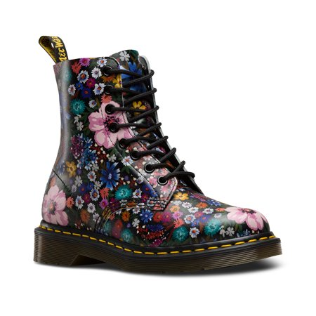 Dr. Martens Pascal Wl 8 Eye Boot Black+Mallow Pink Uk 3
