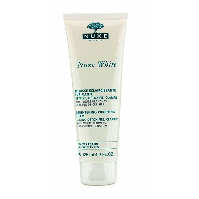 Nuxe White Brightening Purifying Foam-125ml/4.2oz