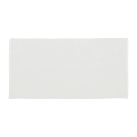 Carmel Towel Company C1518GH Velour Hemmed Towel with Corner Grommet & Hook Corner Grommet Sport Towel