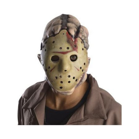 Friday The 13Th Jason Double Adult - Deluxe Jason Voorhees Mask