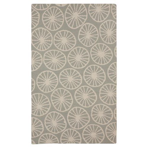 Surya Yacht Club Wagon Wheel Area Rug