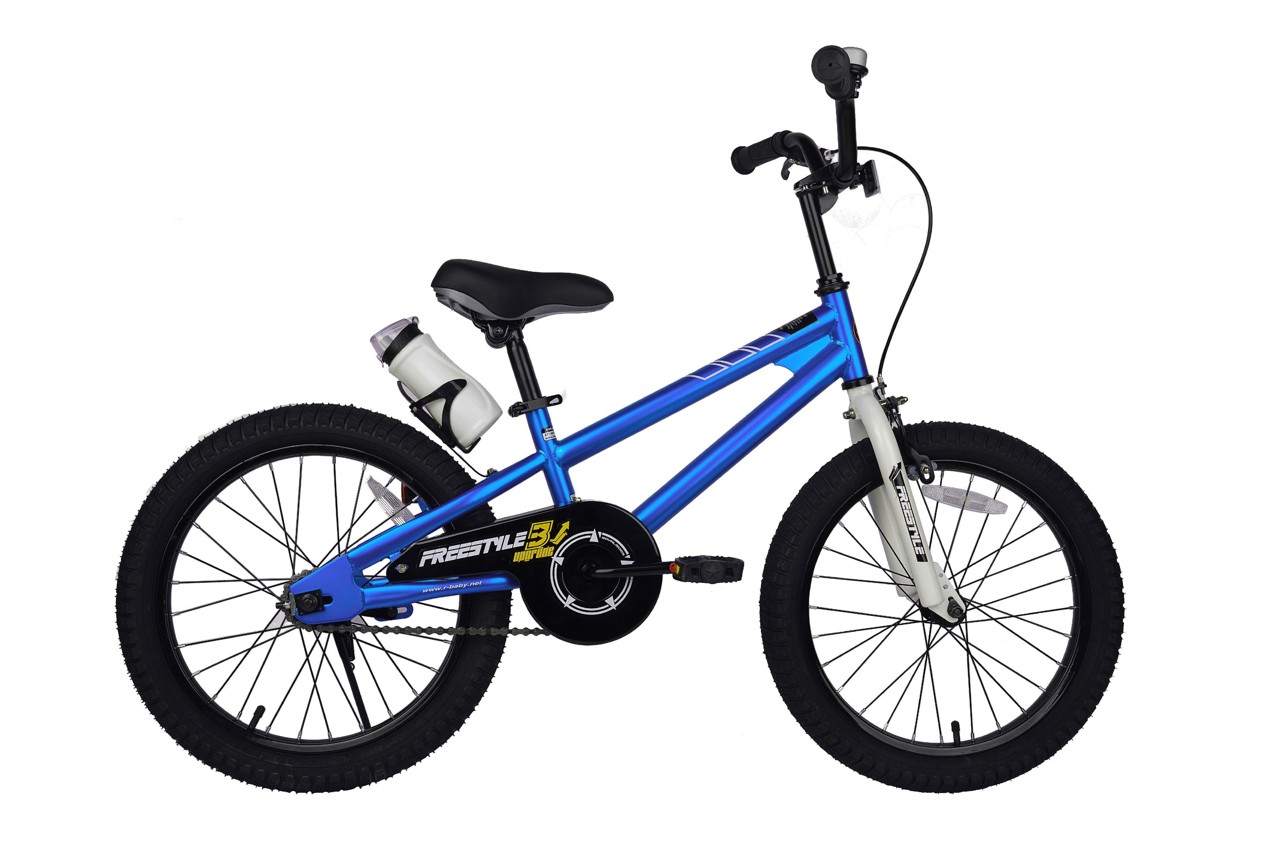 Click here to buy RoyalBaby Freestyle Blue 18 inch Kid