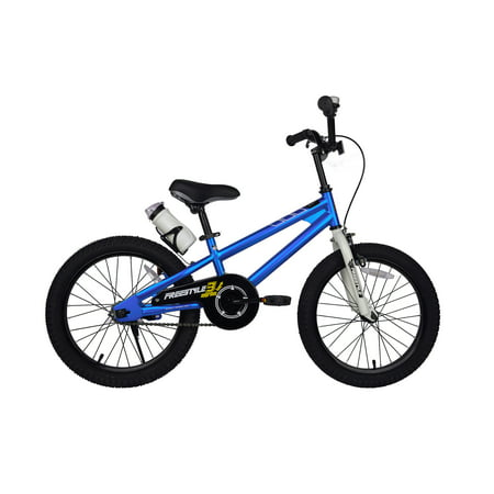 Old School Freestyle Green (RoyalBaby Freestyle Blue 18 inch Kid's Bicycle )