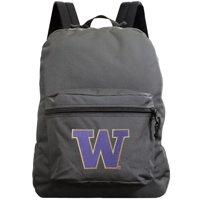 Washington Huskies 16'' Made in the USA Premium Backpack - Gray - No Size